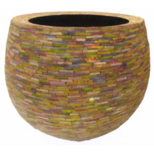 丸型木製植木鉢 / アムンタイラウンドL【取り寄せ商品】 ミュールミル 穴無し 天然素材