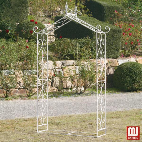 最適な材料 ガーデンアーチ 大同クラフト:MJガーデン LWA19-02W 【取り寄せ商品】 / 19ホワイトアーチ-エクステリア・ガーデンファニチャー