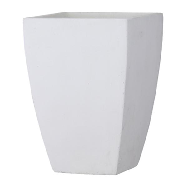 鉢カバー 鉢 / バスク スクエアー 44x62cm ホワイト GA-0444WH 【取り寄せ商品】 グリーンポット モダン おしゃれ シンプル
