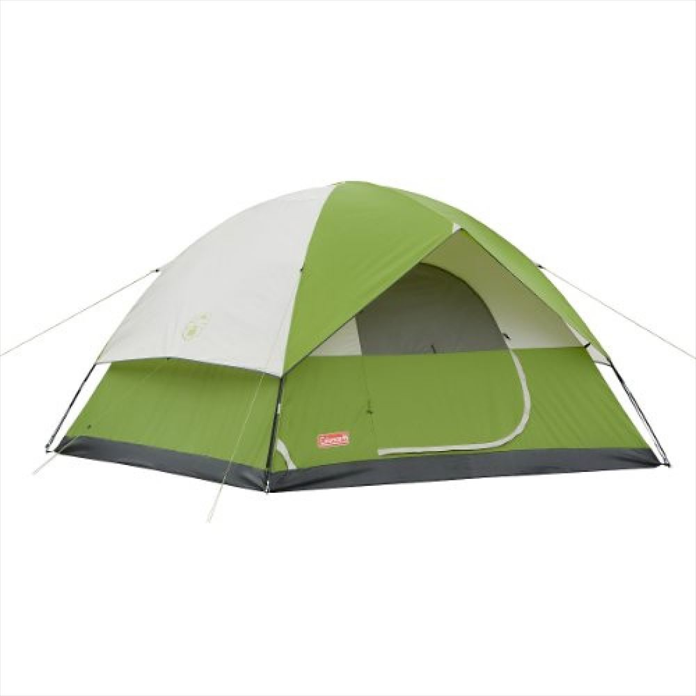 Coleman コールマン サンドーム 6人用 ドーム テント グリーン Sundome 6-Person Tent Green 【 輸入品 】 送料無料 【並行輸入品】