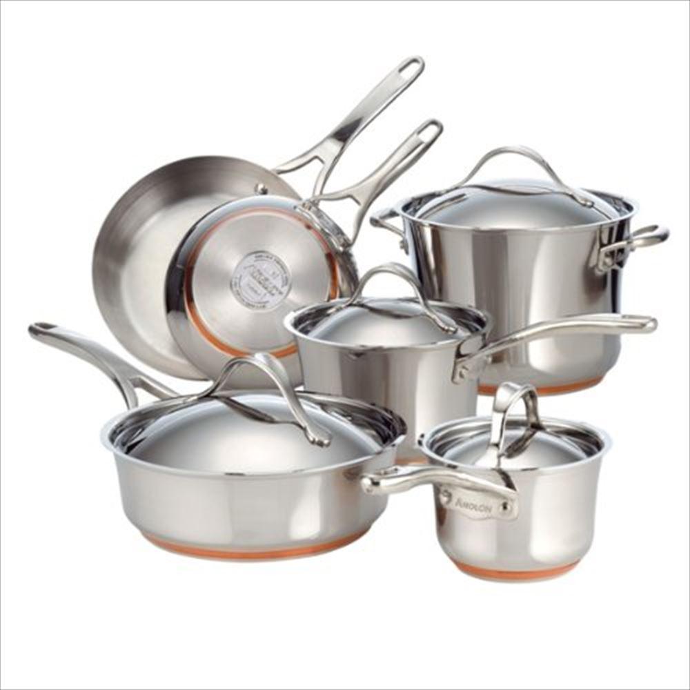 Anolon アナロン 10-Piece Cookware Set 送料無料 【並行輸入品】