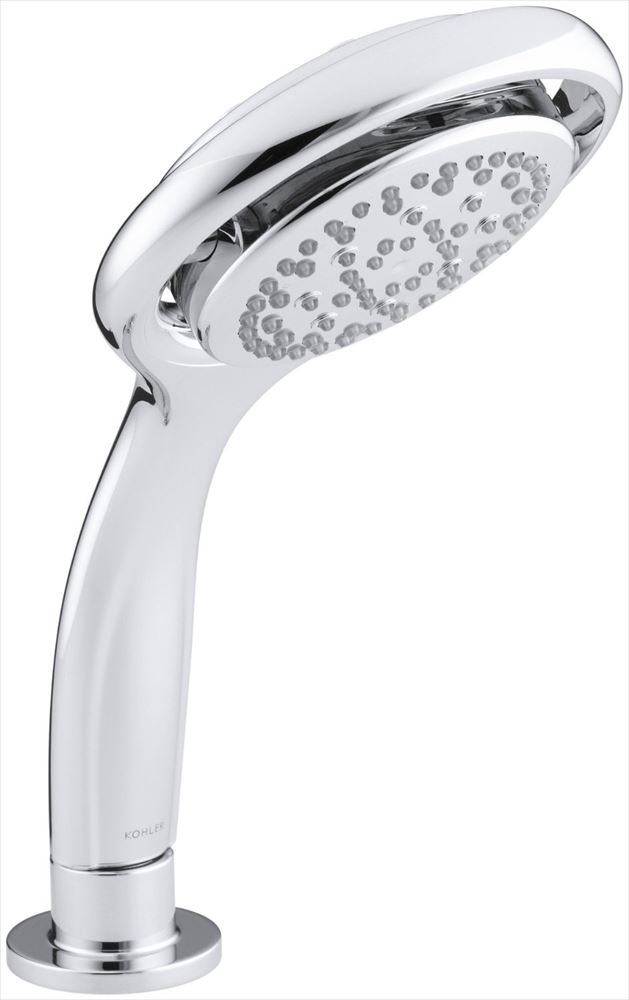Kohler コーラー K-17493-CP Flipside 01 ハンドシャワー, Polished Chrome シャワーヘッドのみ 送料無料 【並行輸入品】