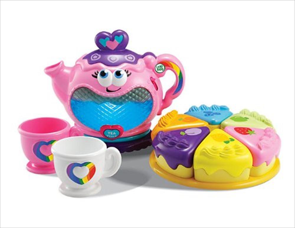 LeapFrog リープフロッグ ティーパーティ Musical Rainbow Tea Party おままごと おもちゃ 子供用 プレゼント グッズ 送料無料 【並行輸入品】