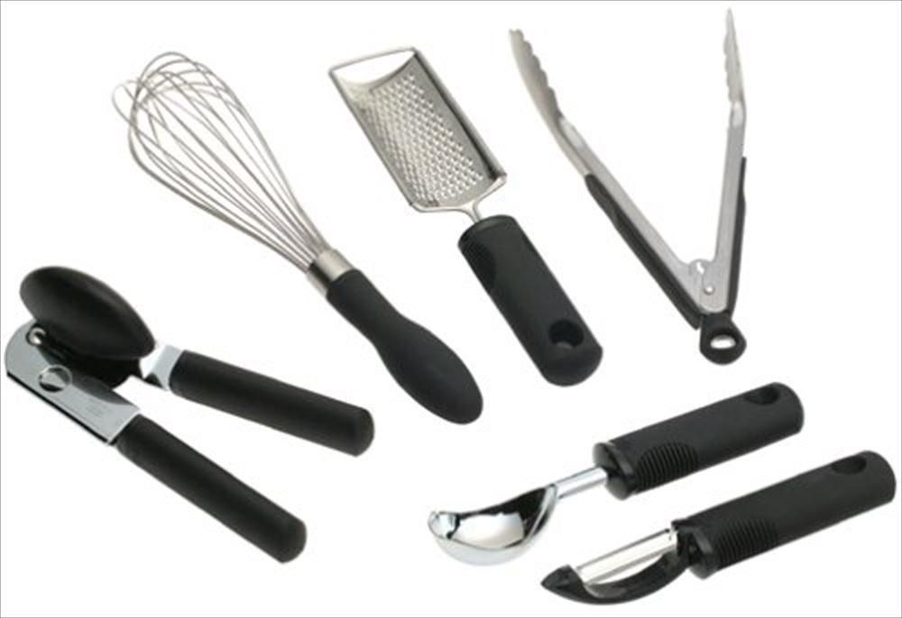 OXO オクソー キッチンツール6ピースセット 76781 Good Grips Everyday Kitchen Tool Set 送料無料 【並行輸入品】