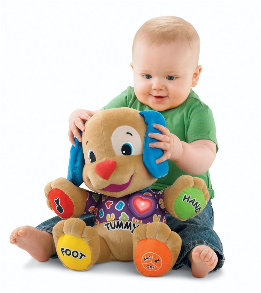 Fisher-Price フィッシャープライス Laugh and Learn ワンちゃんで楽しくお勉強 Love to Play Puppy 知育玩具 おもちゃ ぬいぐるみ プレゼント グッズ ギフト 送料無料 【並行輸入品】