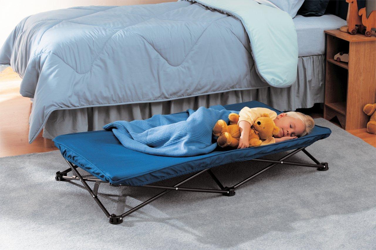 【 Regalo 】 レガロ ポータブルベッド ブルー My Cot Portable Bed, Royal Blue 幼児用ベッド 簡易ベッド レジャー アウトドア キャンプ 海水浴 送料無料 【並行輸入品】
