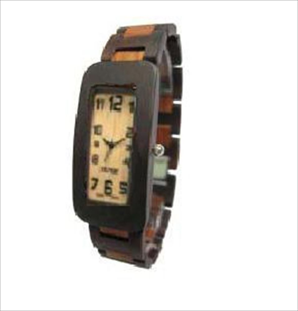 Tense テンス Solid Sandalwood Mens Curved Regular Wood Watch G8221DS Hypo-Allergenic 男性用 メンズ 腕時計 送料無料 【並行輸入品】