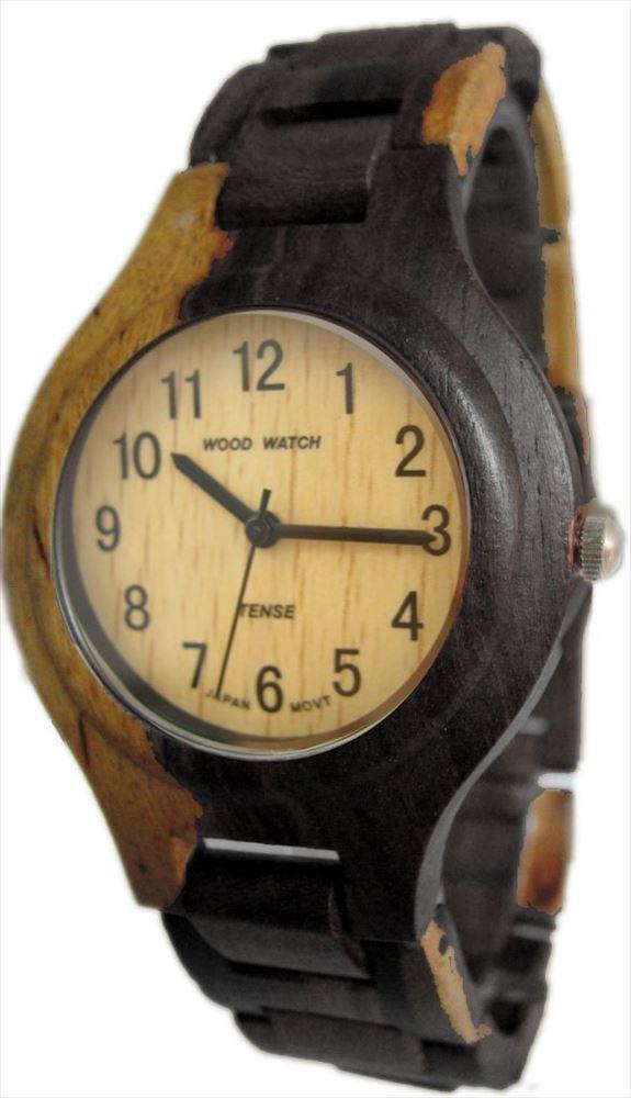 Tense テンス Watch Two Tone Maple & Dark All Wood Mens G7509DM 男性用 メンズ 腕時計 送料無料 【並行輸入品】