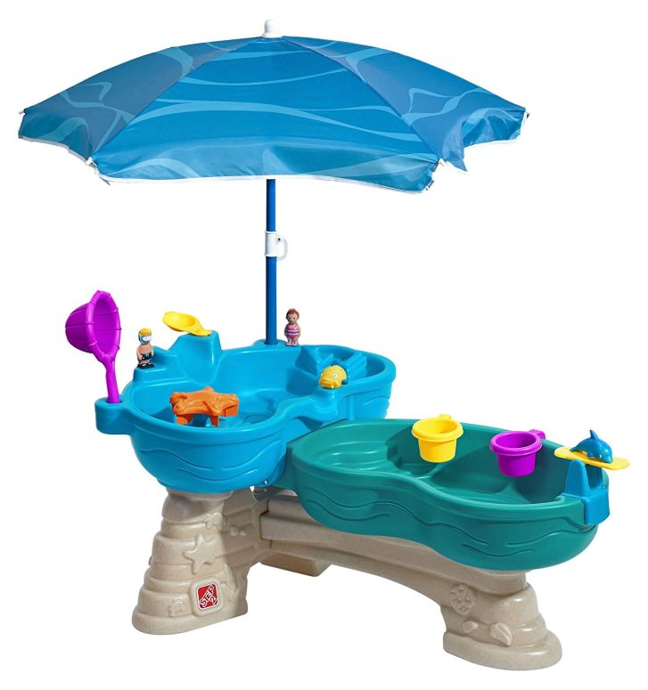 Step2 Spill & Splash Seaway Water Table 送料無料 【並行輸入品】
