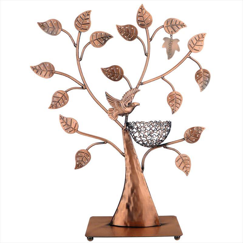 MyGift Jewelry Tree ジュエリーホルダー ジュエリースタンド イヤリング ネックレス ブレスレット おしゃれ 小物 Jewelry Holder Jewelry Stand ラック ブロンズ 【 Bronze 】 送料無料 【並行輸入品】