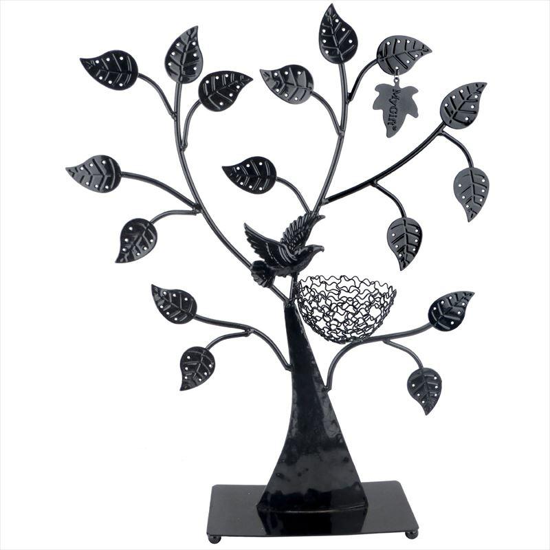 MyGift Jewelry Tree ジュエリーホルダー ジュエリースタンド イヤリング ネックレス ブレスレット おしゃれ 小物 Jewelry Holder Jewelry Stand ラック ブラック 【 Black 】 送料無料 【並行輸入品】