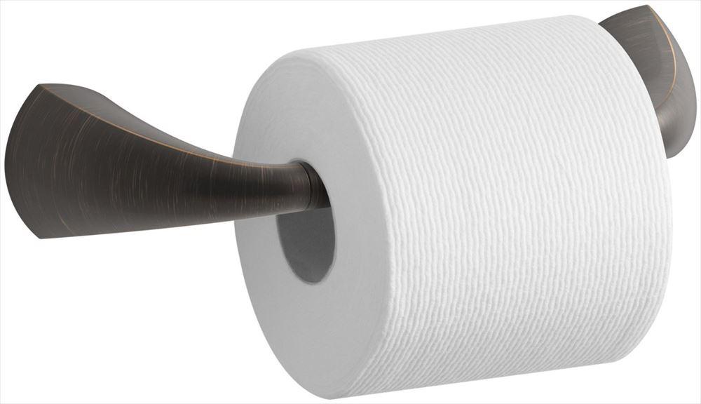 Kohler コーラー K-37054-2BZ Alteo Pivoting Toilet Tissue Holder, Oil-Rubbed Bronze 【 金具 タオル リング バス ティッシュ ホルダー トイレ 】 送料無料 【並行輸入品】