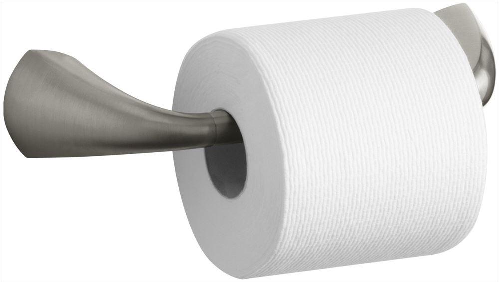 Kohler コーラー K-37054-BN Alteo Pivoting Toilet Tissue Holder, Vibrant Brushed Nickel 【 金具 タオル リング バス ティッシュ ホルダー トイレ 】 送料無料 【並行輸入品】