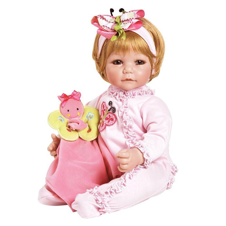 Adora アドラ ベビードール 20インチ 約50cm ブロンド 青い目 人形 Butterfly Boo Sandy Blond Hair Hazel Eyes 送料無料 【並行輸入品】