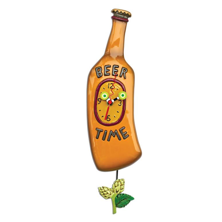 ビールの時間 アレン デザイン 振り子時計 Allen Designs BEER TIME PENDULUM CLOCK 掛け時計 ミシェルアレン ミシェル・アレン アレン・デザイン ALLEN DESIGNS 時計 送料無料 【並行輸入品】