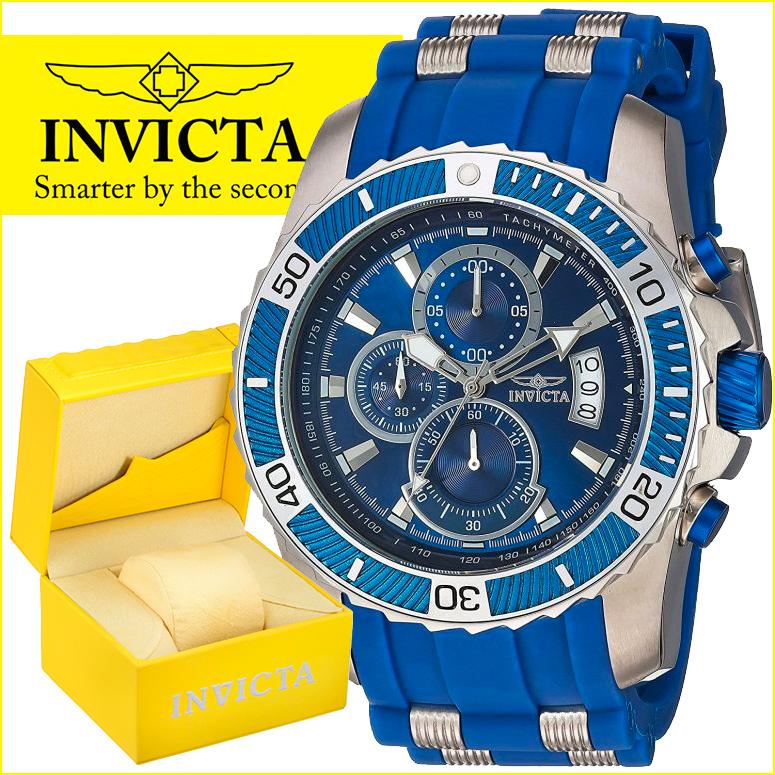 インビクタ Invicta インヴィクタ 男性用 腕時計 メンズ ウォッチ プロダイバーコレクション Pro Diver Collection ブルー 22429 送料無料 【並行輸入品】