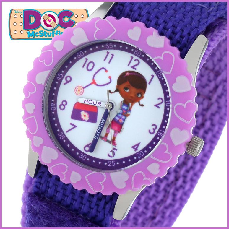 ディズニー Disney 子供用 腕時計 キッズ ウォッチ ホワイト W000909 送料無料 【並行輸入品】
