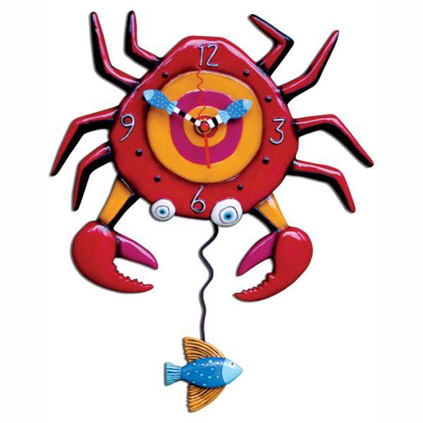 アレン デザイン 振り子時計 Allen Designs Crabby Clock