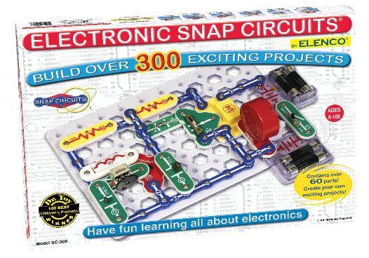 スナップ サーキット シリーズ Snap Circuits SC-300 エレクトロニック ディスカバリーキット SC-300 Electronics Discovery Kit 【 8歳以上 子供向け 電子工作 実践キット ベストトイ 】 送料無料 【並行輸入品】
