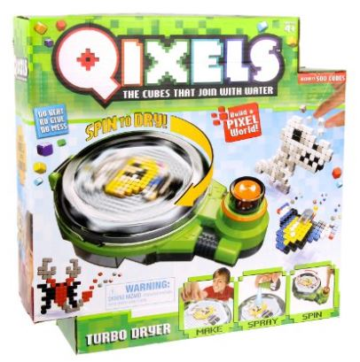クイクセルズ ターボ ドライヤー Qixels Turbo Dryer 4歳以上 【 キューブを並べる 組立 水で接着 玩具 おもちゃ 関連商品 関連グッズ 】 送料無料 【並行輸入品】