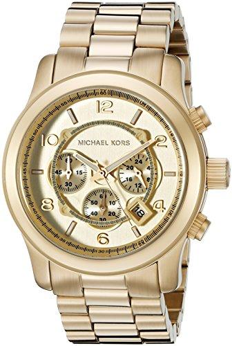 マイケルコース Michael Kors 男性用 腕時計 メンズ ウォッチ ゴールド MK8077 プレゼント おしゃれ かわいい 送料無料 【並行輸入品】