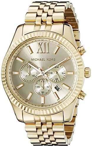 マイケルコース Michael Kors 男性用 腕時計 メンズ ウォッチ ゴールド MK8281 プレゼント おしゃれ かわいい 送料無料 【並行輸入品】
