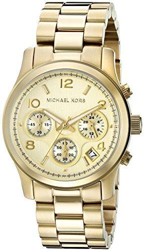 ニューヨーク Michael Kors 正規品直輸入 マイケルコース 女性用 腕時計 レディース ウォッチ かわいい ゴールド MK5055 クロノグラフ 新着 プレゼント おしゃれ 送料無料 全国一律送料無料 並行輸入品