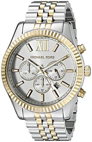 マイケルコース Michael Kors 男性用 腕時計 メンズ ウォッチ ツートン MK8344 プレゼント おしゃれ かわいい 送料無料 【並行輸入品】