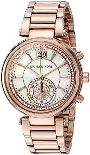 マイケルコース Michael Kors 女性用 腕時計 レディース ウォッチ ローズゴールド MK6282 プレゼント おしゃれ かわいい 送料無料 【並行輸入品】