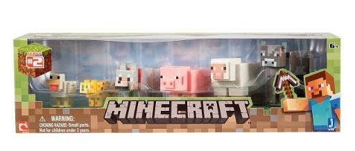 マインクラフト Minecraft アニマルトイ フィギュア 6パック Animal Toy 6-Pack 【 マインクラフト マイクラ ゲーム フィギュア 動物 】 送料無料 【並行輸入品】
