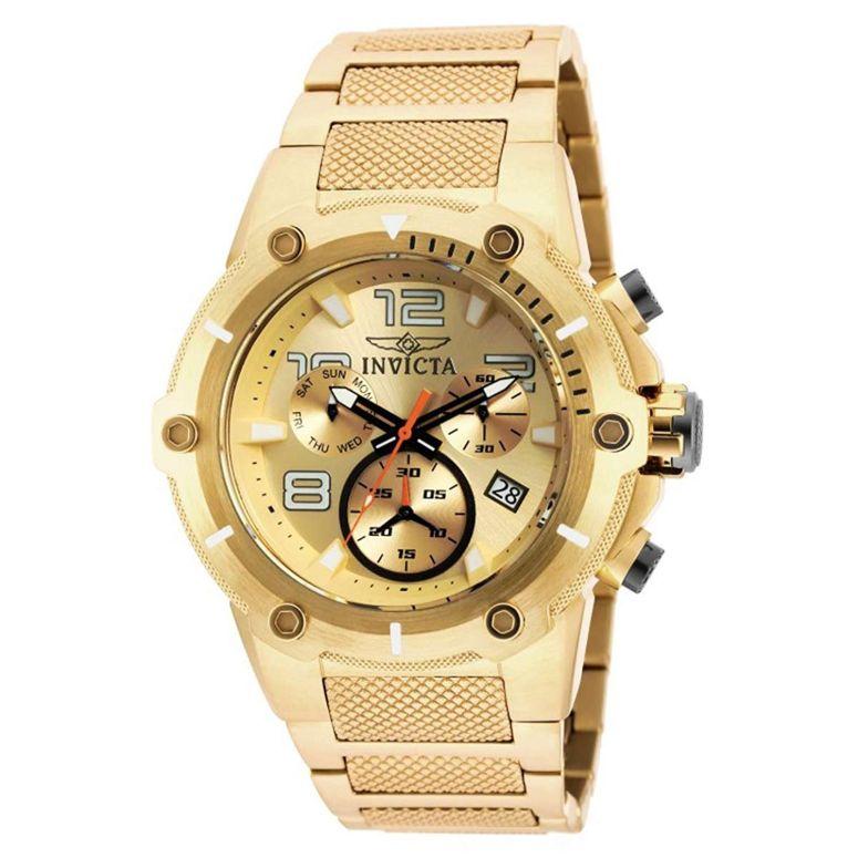 インビクタ Invicta インヴィクタ 男性用 腕時計 メンズ ウォッチ クロノグラフ シャンパン 19529 送料無料 【並行輸入品】