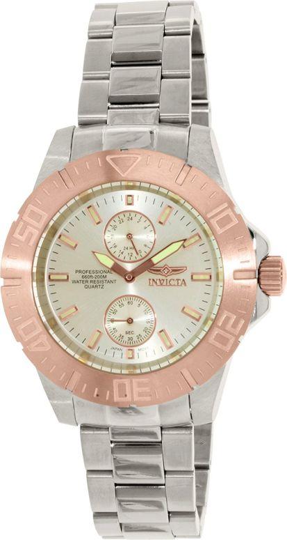 インビクタ Invicta インヴィクタ 男性用 腕時計 メンズ ウォッチ プロダイバーコレクション Pro Diver Collection シルバー 14057 送料無料 【並行輸入品】