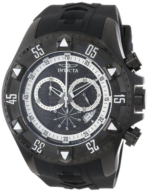 インビクタ Invicta インヴィクタ 男性用 腕時計 メンズ ウォッチ クロノグラフ ブラック 12691 送料無料 【並行輸入品】