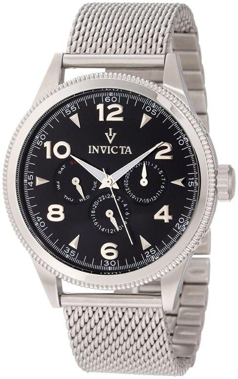 インビクタ Invicta インヴィクタ 男性用 腕時計 メンズ ウォッチ ブラック 12204 送料無料 【並行輸入品】