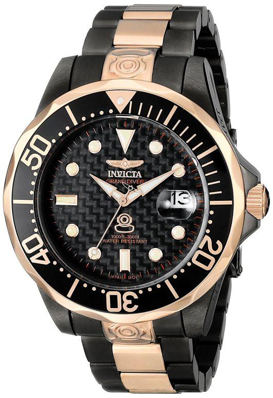 インビクタ Invicta インヴィクタ 男性用 腕時計 メンズ ウォッチ プロダイバーコレクション Pro Diver Collection ブラック 10643 送料無料