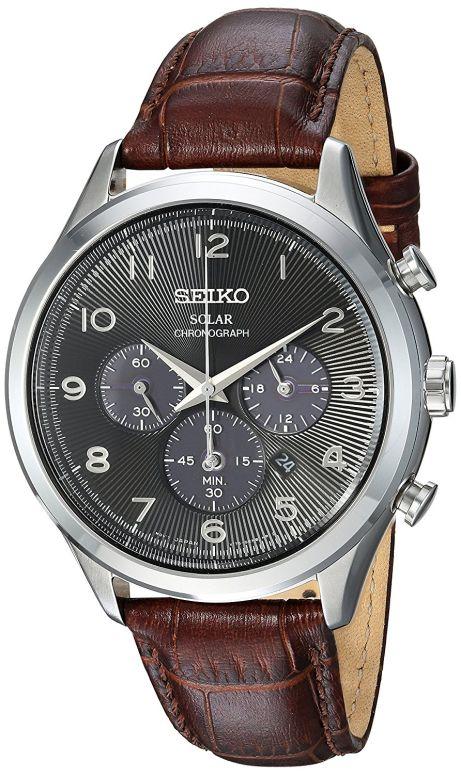 セイコー SEIKO 男性用 腕時計 メンズ ウォッチ クロノグラフ ブラック SSC565 送料無料 【並行輸入品】