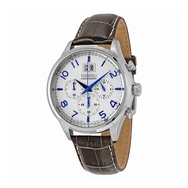 セイコー SEIKO 男性用 腕時計 メンズ ウォッチ クロノグラフ ホワイト SPC155 送料無料 【並行輸入品】