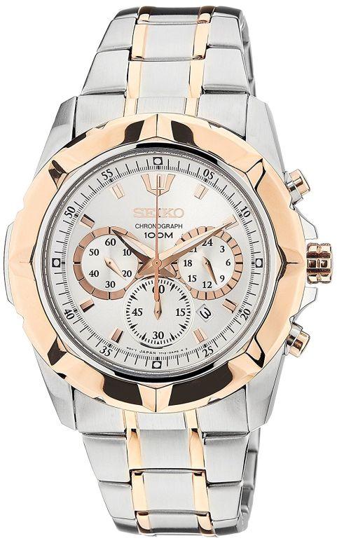 セイコー SEIKO 男性用 腕時計 メンズ ウォッチ クロノグラフ ホワイト SRW026P1 送料無料 【並行輸入品】
