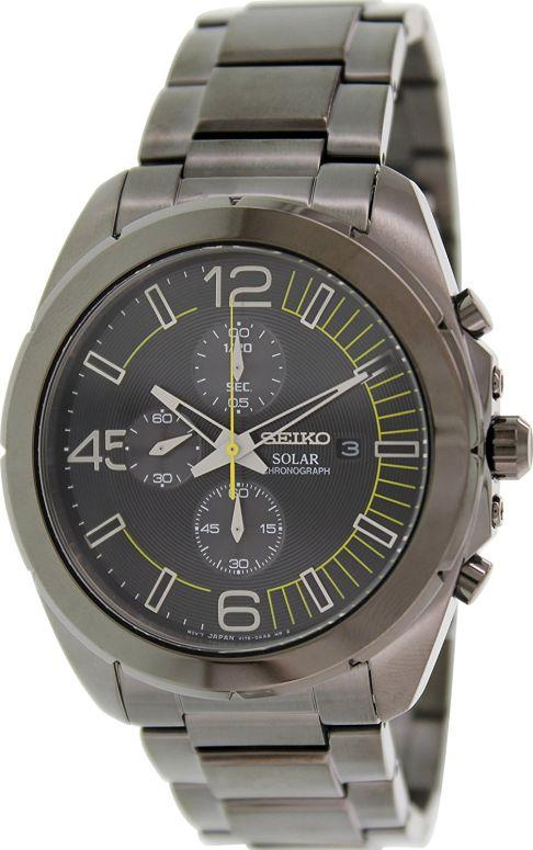 セイコー SEIKO 男性用 腕時計 メンズ ウォッチ クロノグラフ ブラック SSC217P1 送料無料 【並行輸入品】