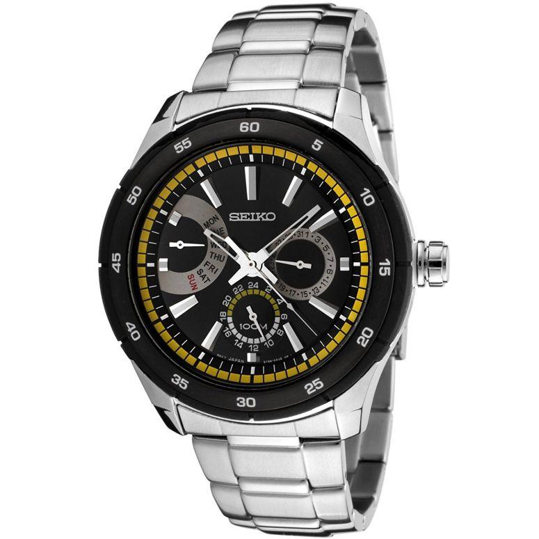 セイコー SEIKO 男性用 腕時計 メンズ ウォッチ ブラック SNT023 【並行輸入品】