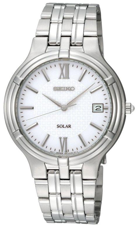 セイコー SEIKO 男性用 腕時計 メンズ ウォッチ ホワイト SNE025 送料無料 【並行輸入品】