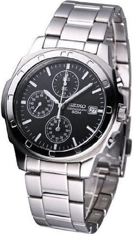 セイコー SEIKO 男性用 腕時計 メンズ ウォッチ クロノグラフ ブラック SNDB35 送料無料 【並行輸入品】
