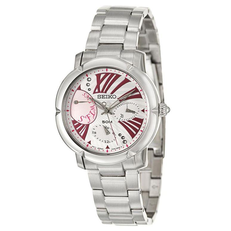 セイコー SEIKO 女性用 腕時計 レディース ウォッチ シルバー SNT877P1 送料無料 【並行輸入品】