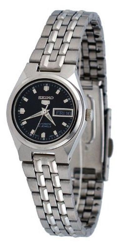 セイコー 5 SEIKO 女性用 腕時計 レディース ウォッチ ブラック SYMK43 送料無料 【並行輸入品】