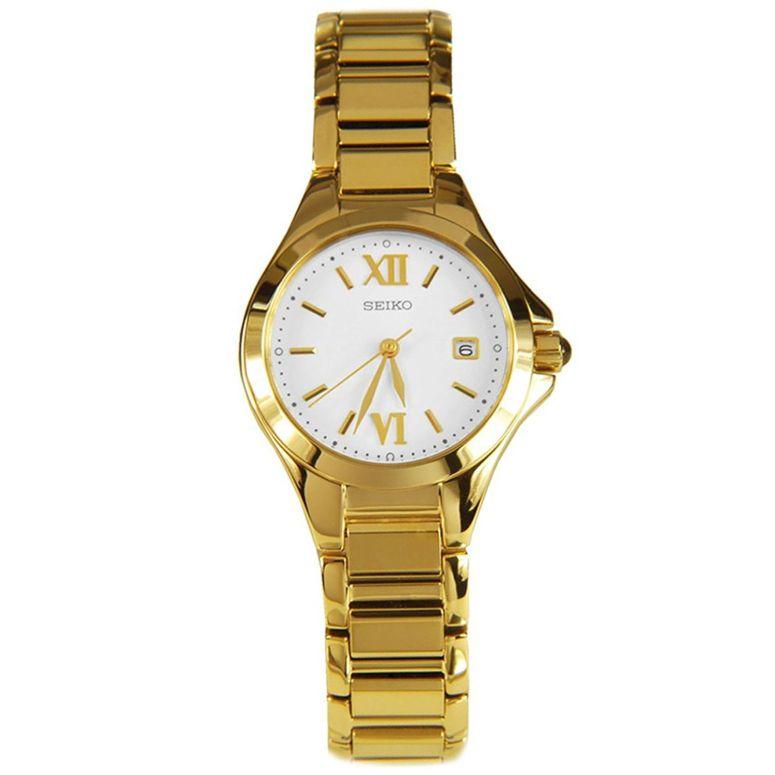 セイコー SEIKO 女性用 腕時計 レディース ウォッチ シルバー SXDC18P1 送料無料 【並行輸入品】