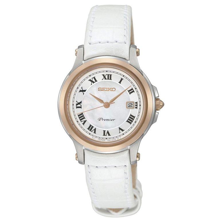 <title>セイコー SEIKO 腕時計 ウォッチ 時計 女性用 公式ショップ レディース ホワイト SXDE42P2 送料無料 並行輸入品</title>