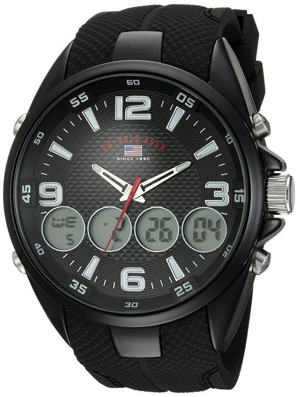 ユーエス ポロ アッスン U.S. Polo Assn. 男性用 腕時計 メンズ ウォッチ ブラック US9596 送料無料 【並行輸入品】