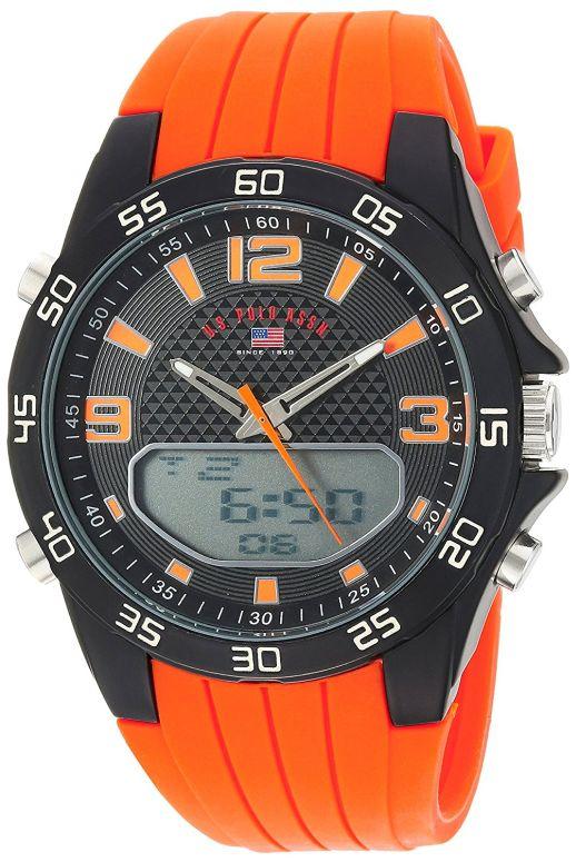 ユーエス ポロ アッスン U.S. Polo Assn. 男性用 腕時計 メンズ ウォッチ ブラック US9604 送料無料 【並行輸入品】