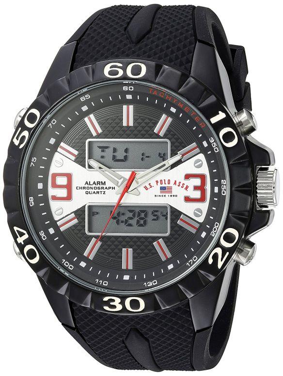 ユーエス ポロ アッスン U.S. Polo Assn. 男性用 腕時計 メンズ ウォッチ ブラック US9599 送料無料 【並行輸入品】