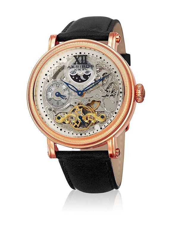 アクリボス Akribos XXIV 男性用 腕時計 メンズ ウォッチ ホワイト AK968RGBK 送料無料 【並行輸入品】